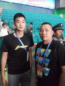 Wang Zhengming is a male badminton player from China.